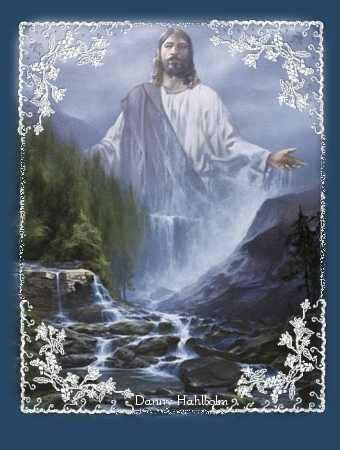 Jesus our fountain that never runs dry. Thank you Lord!
