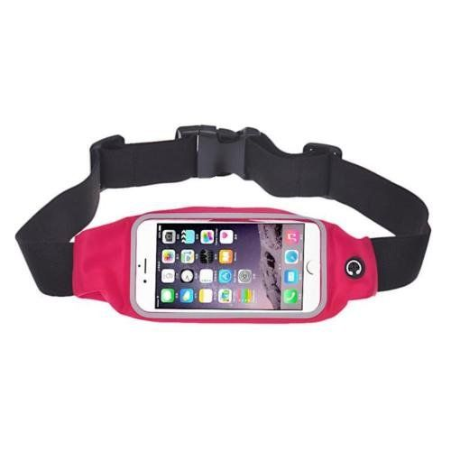 iphone 6 Plus Waist Bag  SODIALRSports Running Jogging Gym Waist Belt Bag Case Cover Holder for iphone 6 Plus 55 Rose red *** Learn more by visiting the image link.