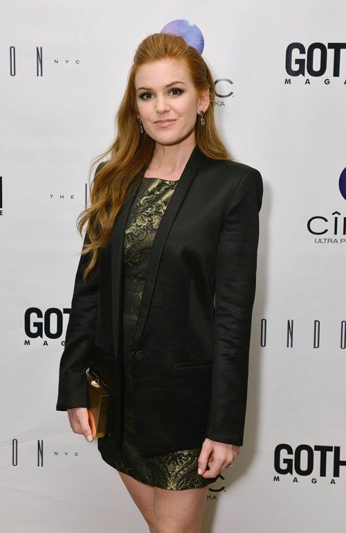 Isla Fisher Gotham Magazine Coverstar