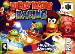 Diddy Kong Racing for Nintendo 64...i always played as the turtle guy
