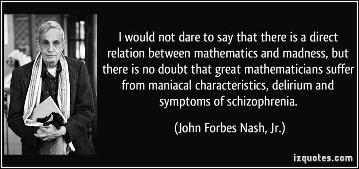 Nobel Prize winner Dr. John Forbes Nash Jr.