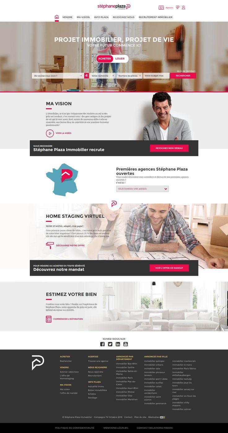 webdesign immobilier stephane plaza