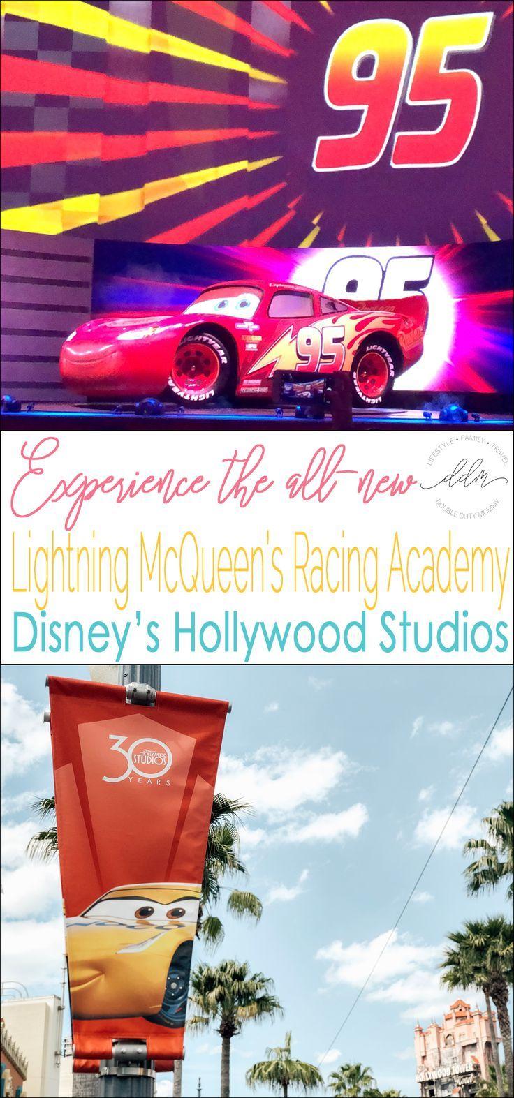 Lightning Mcqueen S Racing Academy Disney S Hollywood Studios Hollywood Studios Disney Disney World Tips And Tricks Disney Trip Planning