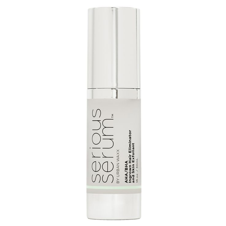 Serious Serum is the best ingrown hair eliminator and skin exfoliant you'll ever use...