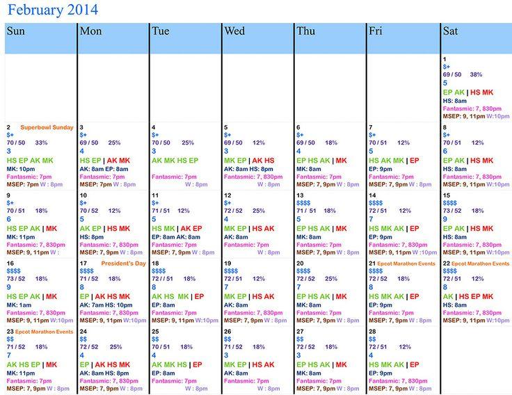 Crowd Calendar