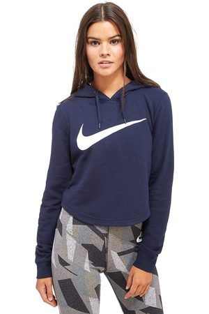 Nike Swoosh Crop Overhead Women's Hoodie - find out more on our site. Find  the widest range of sports equipment from top brands.