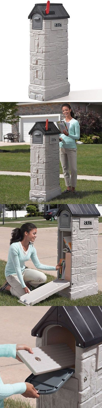 Step 2 52344: Step2 Mailmaster Storemore Mailbox Locking Hidden Package Storage Letter Post -> BUY IT NOW ONLY: $129.99 on eBay!