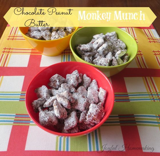 Monkey Food, Monkey Munch, Dog Food....it's called all kinds of things, but it's yummy!