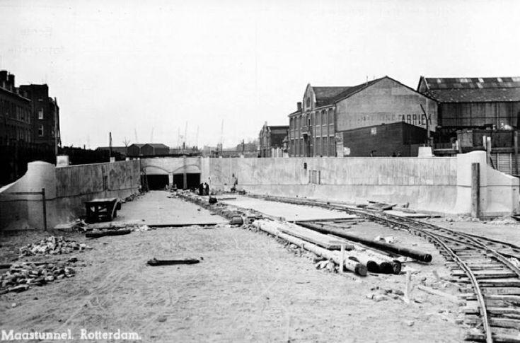 Bouw Maastunnel Rotterdam - bewri