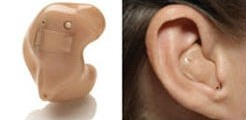 Custom fit or in-the-ear Hearing Aids #hearingaid