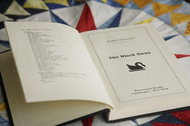The Black Swan, Book Review, Rafael Sabatini, Mariner's Compass