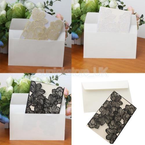 10-Sets-Wedding-Engagement-Laser-Cut-Lace-Invitation-Cards-Blank-Inserts-Design