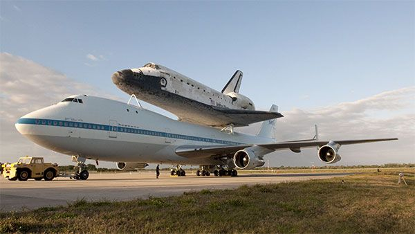 The Space Shuttle Discovery made it's final voyage to D.C for it's resting place at the Smithsonian Museum.