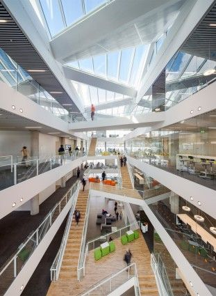 Education center VUC syd in Denmark by AART architects