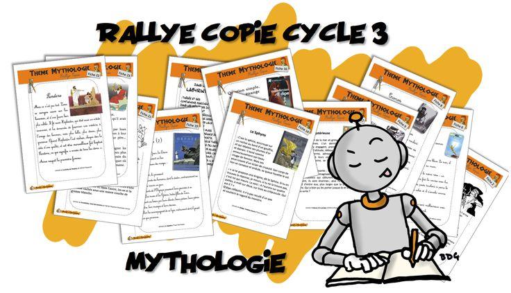 Rallye copie Mythologie
