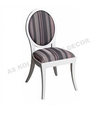 AS Koltuk Home Decor: For Sale - Black and Brown Stripes Chair