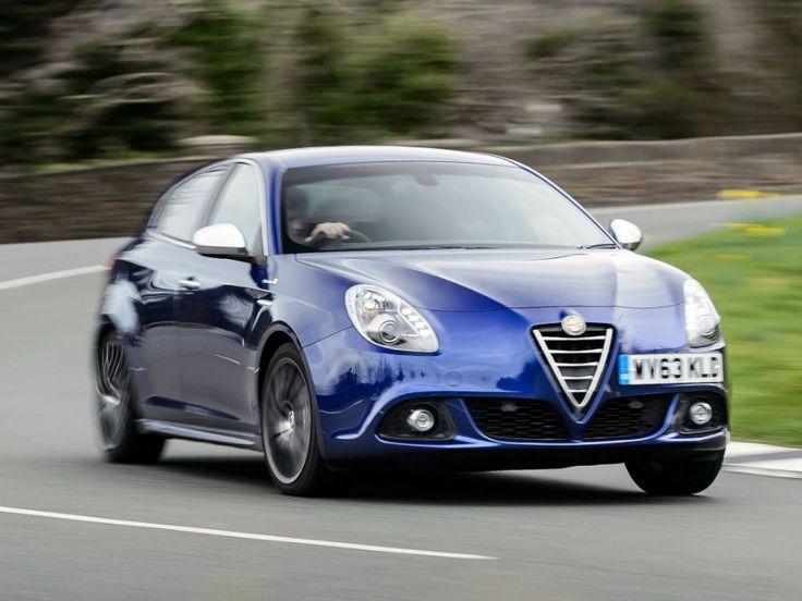 2014 Alfa Romeo Giulietta Blue