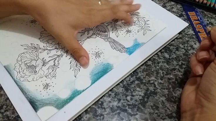 Fundo desfocado com lápis - Summer Nigths