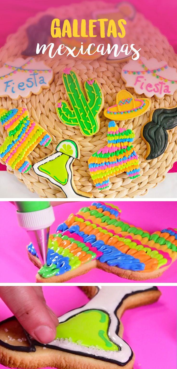 Con este tip podrás aprender a decorar unas increíbles galletas de margarita y piñata de burrito con royal icing, perfectas para una fiesta mexicana, llenas de color y muy divertidas.
