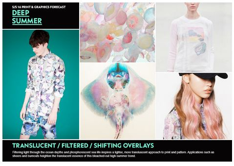 WGSN SS 16 Print & Graphic Forecast - DEEP SUMMER