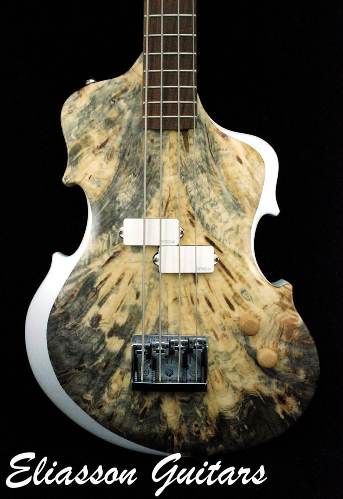 hand made custom electric bass guitar by paul eliasson the o 39 jays electric and bass guitars. Black Bedroom Furniture Sets. Home Design Ideas