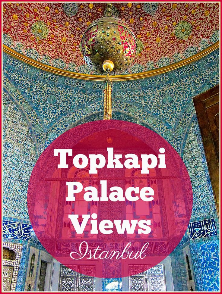 Topkapi Palace Views Istanbul. The best way to absorb the Ottoman opulence of old Istanbul is to take in some Topkapi Palace Views. Located in the historic district close to Hagia Sophia, the Palace (a museum since 1924) is a reminder of those grand times.
