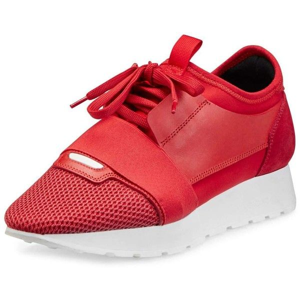 17 best ideas about red balenciaga sneakers on pinterest