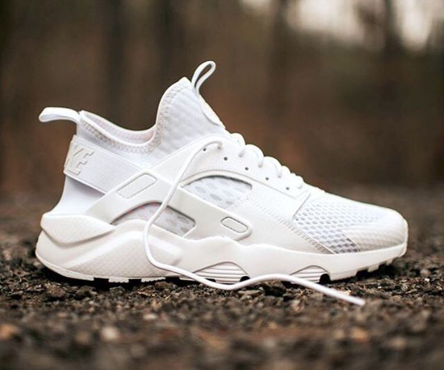 "#Nike unveils a pristine ""Triple White"" air hurricane ultra. Read more at Hypebae.com"