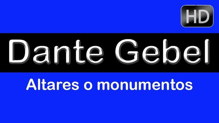 """Dante Gebel """"Altares o monumentos"""" Lo último de Dante Gebel 2014. Dante ..."""