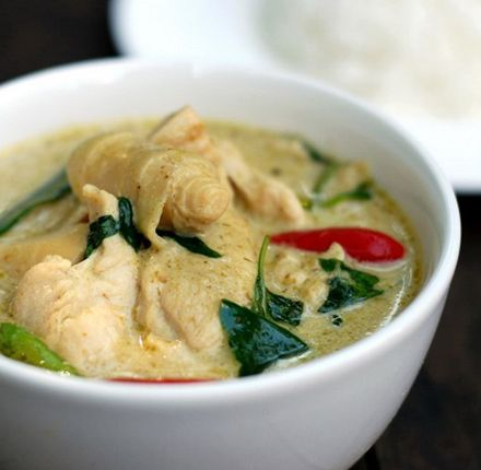 Got satay chicken and green curry with tuna. Both tasty, the second also fairly unique. Service was great, but I asked for the curry to be super spicy and she warned me against it, and then of course it wasn't as spicy as I wanted... sigh. white girl problems