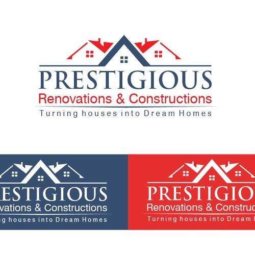 prestigious renovations constructions award winning builder needs new logo to reflect the prestigious homes construction