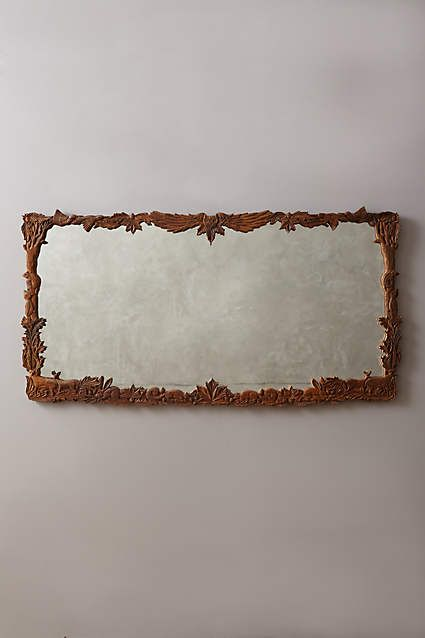 Handcarved Menagerie Mirror - anthropologie.eu