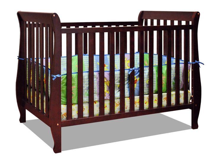athena naomi 4 in 1 crib with toddler rail 01 convertible baby - Convertible Baby Cribs