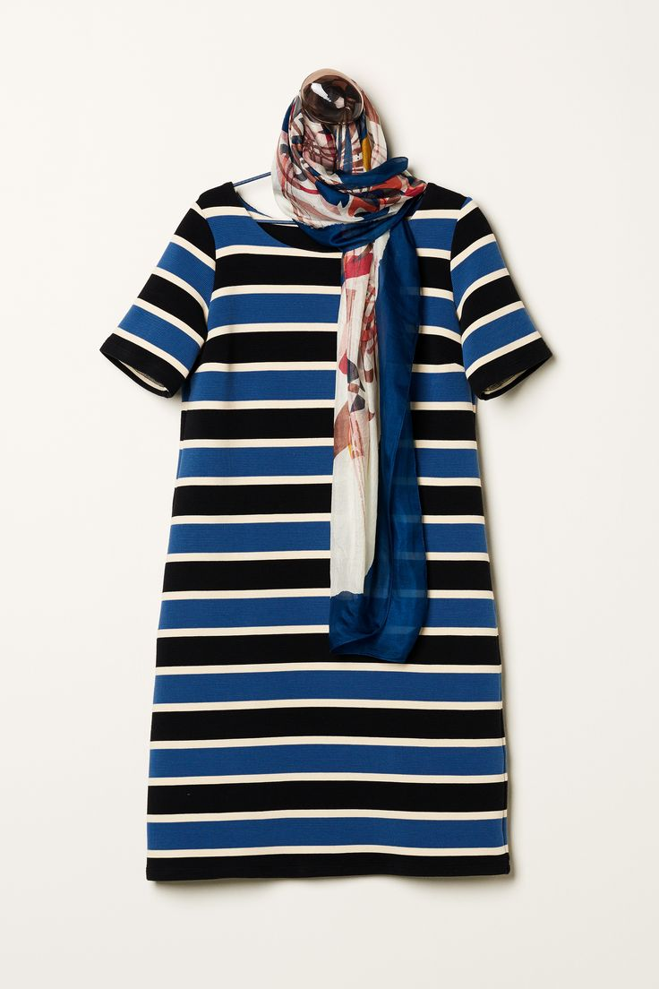 Spring Drumming | New Collection | Striped | Dress | Inspired
