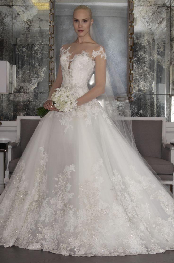 25 besten LACE WEDDING DRESSES Bilder auf Pinterest ...