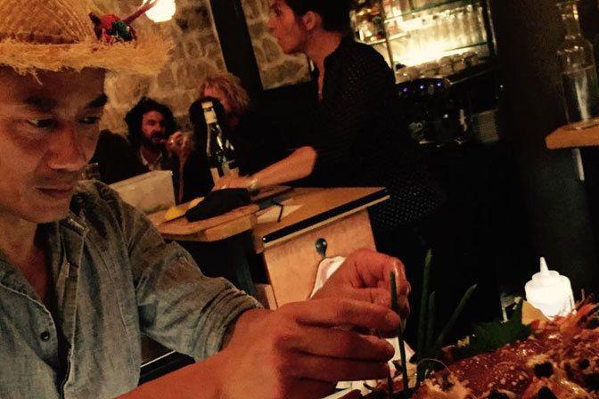 Restaurant Soma, 13, rue de Saintonge Paris 75003. Envie : Japonais, Néobistrot, Asiatique. Les plus : Antidépresseur, Faim de nuit.
