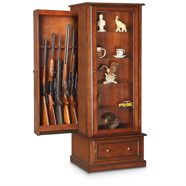 Best 25 Wood Gun Cabinet Ideas On Pinterest Gun Storage