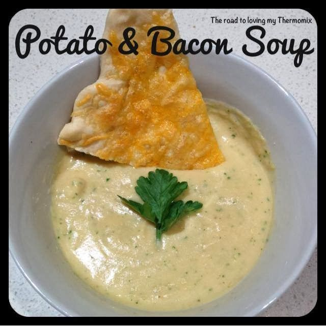 Potato and Bacon Soup - The Road to Loving My Thermo Mixer