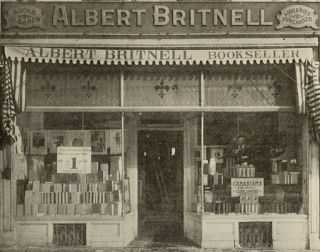 The same Albert Britnell's, 241 Yonge Street, Toronto Stationary & Office Products in 1911