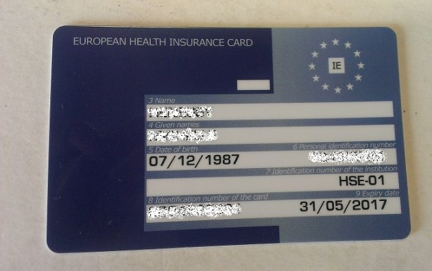 Explainer: Why should you get a European Health Insurance Card before travelling? --- (I've had one for as long as they've been available.)