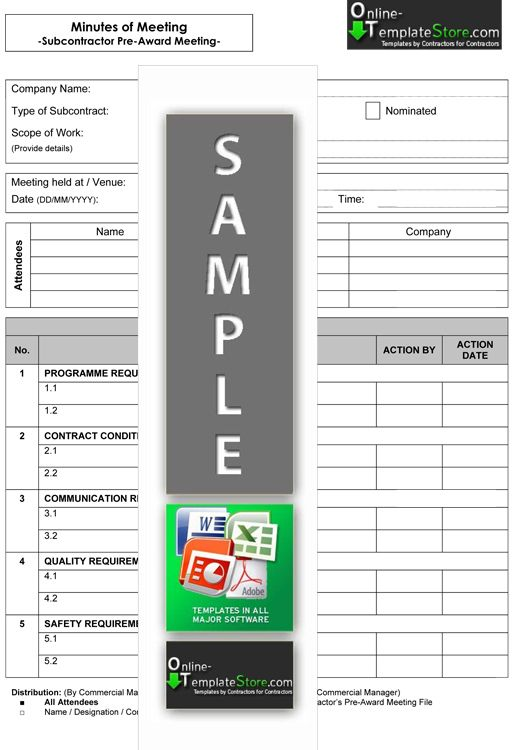 17 best Cost Control Templates images on Pinterest Role models - example of meeting minutes template