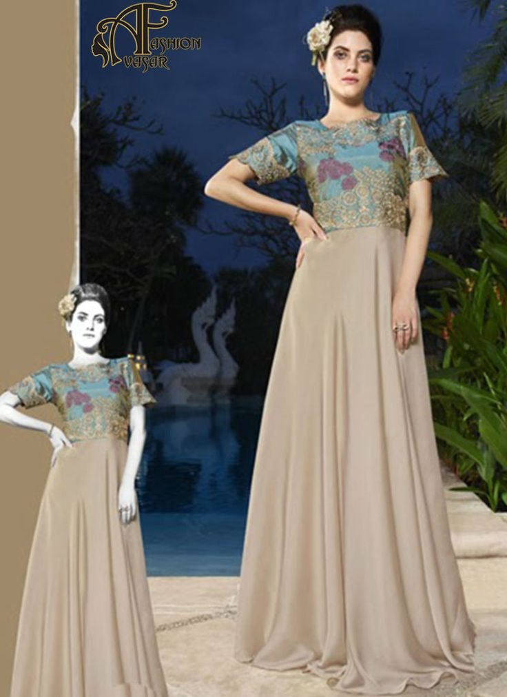 Party Wear Gown Online Shopping India