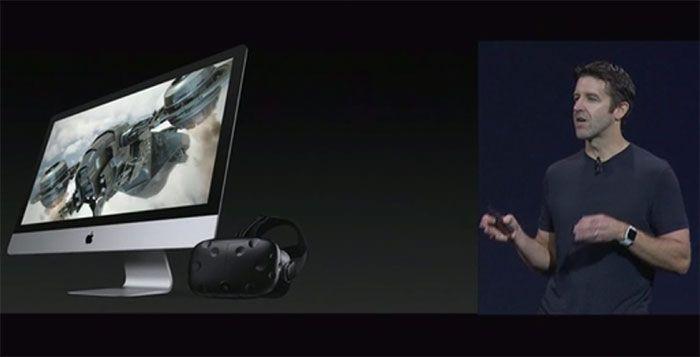 Apple annonce son engagement dans la VR avec HTC Vive - Grâce à une carte graphique externe récemment annoncée, les développeurs et les créateurs de contenus pourront utiliser une version bêta de Steam VR pour accéder à la puissance créative de Vive ...