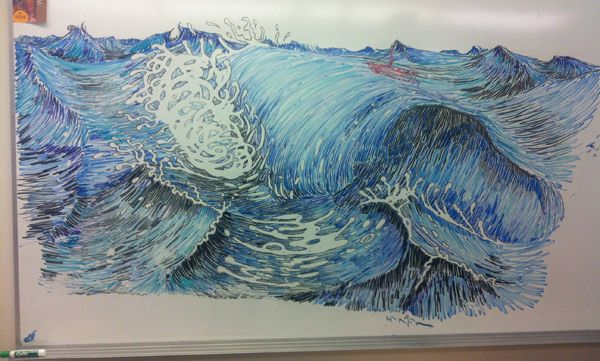 21 best whiteboard art images on pinterest whiteboard for Stuff to draw on a whiteboard