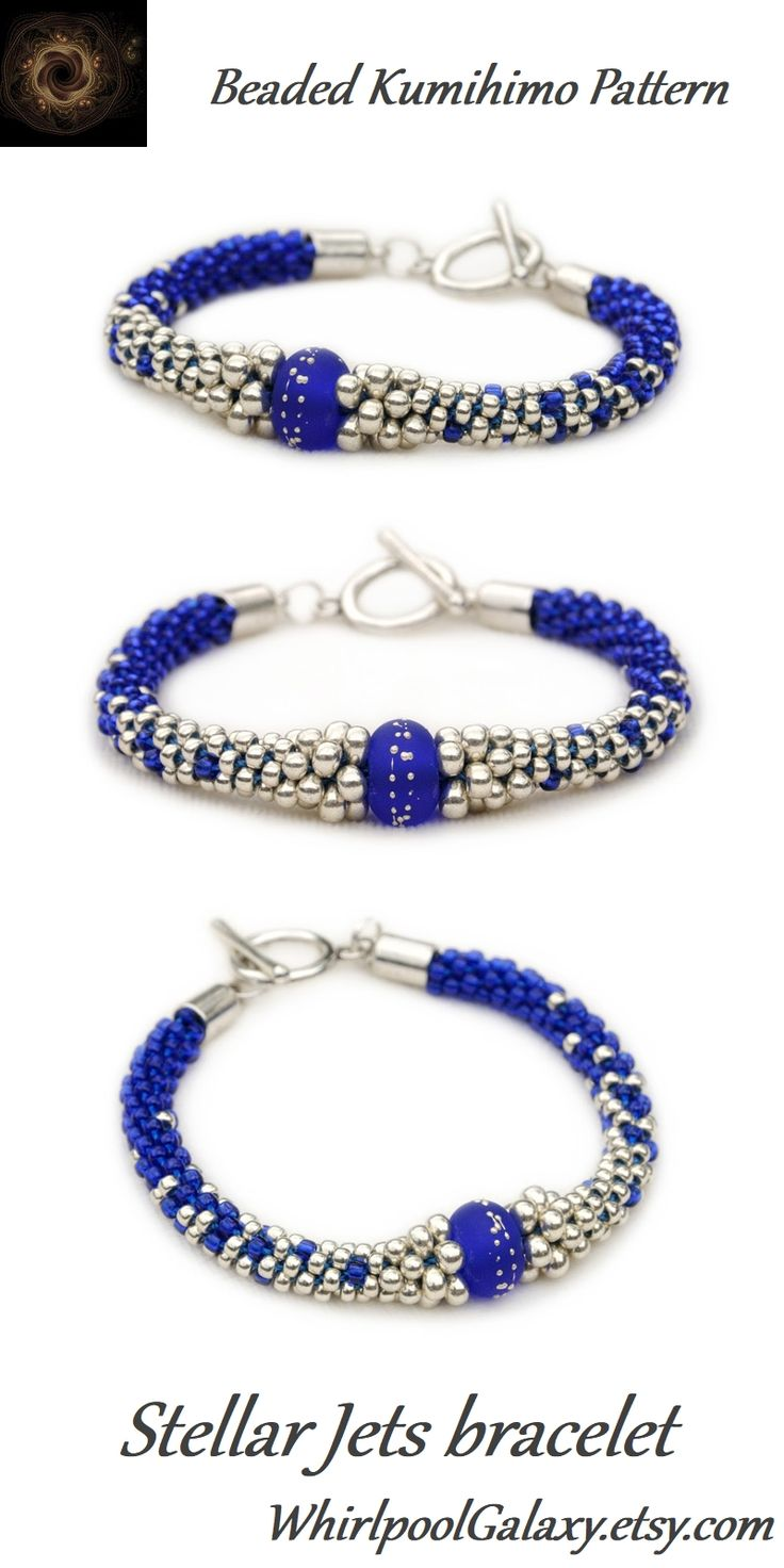 33 best Beaded Kumihimo Patterns - Whirlpool Galaxy images on ...