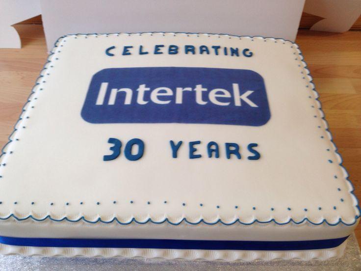 Corporate Anniversary Cake Helmaries Cake Decorating