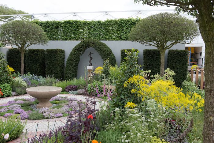 a modern apothecary garden rhs chelsea flower show 2016