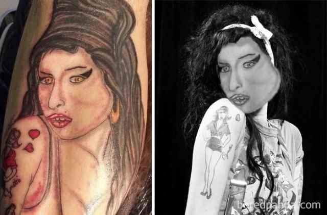 15+ Terrible Tattoos Photoshopped Into Reality