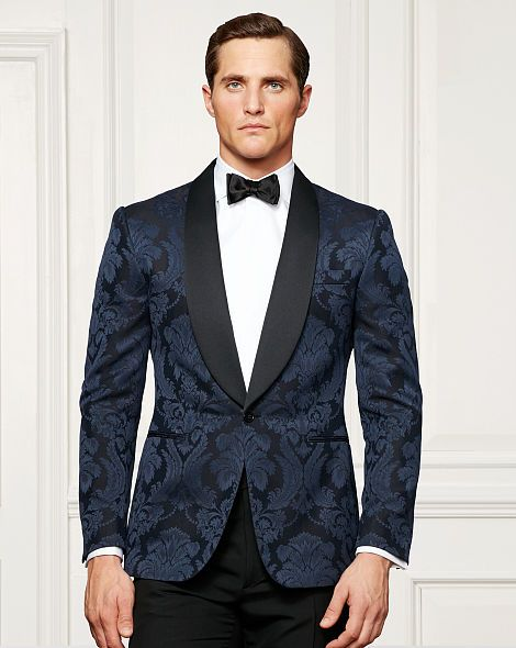 Anthony Jacquard Dinner Jacket - Purple Label Best Sellers - RalphLauren.com
