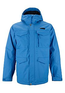 BURTON Covert - Anorak de snowboard para Hombres - Azul